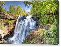 0302 Cuyahoga Valley National Park Brandywine Falls Acrylic Print