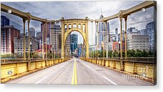 0305  Pittsburgh 10 Acrylic Print by Steve Sturgill
