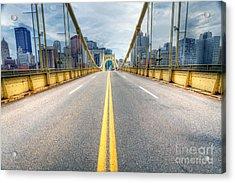 0306 Pittsburgh 9 Acrylic Print by Steve Sturgill