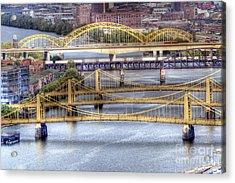 0307 Pittsburgh 8 Acrylic Print by Steve Sturgill