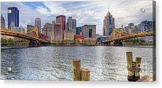 0311 Pittsburgh 1 Acrylic Print by Steve Sturgill
