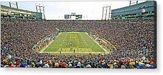 0349 Lambeau Field Panoramic Acrylic Print