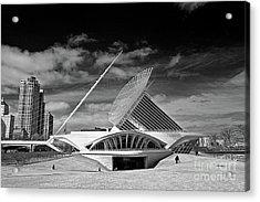 0352 Milwaukee Art Museum Infrared Acrylic Print