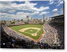 0415 Wrigley Field Chicago Acrylic Print