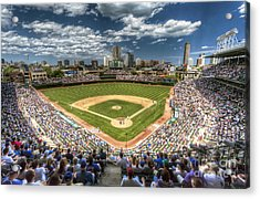 0443 Wrigley Field Chicago  Acrylic Print