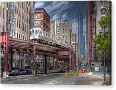 0489 Wabash Avenue Chicago Acrylic Print