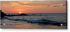 0581 Maui Sunset 2 Acrylic Print