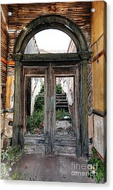 0707 Jerome Ghost Town Acrylic Print