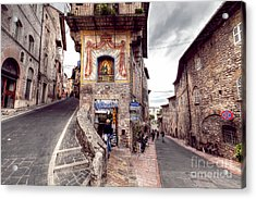 0801 Assisi Italy Acrylic Print