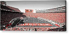 0813 Camp Randall Stadium Panorama Acrylic Print