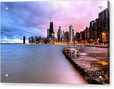 0865 Chicago Sunrise Acrylic Print