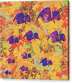 0886 Abstract Thought Acrylic Print by Chowdary V Arikatla