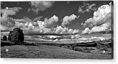 Culm Valley In Devon Acrylic Print