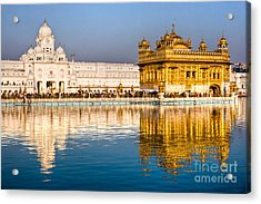 Golden Temple In Amritsar - Punjab - India Acrylic Print