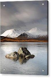 Lochan Na H-achlaise Acrylic Print by Grant Glendinning