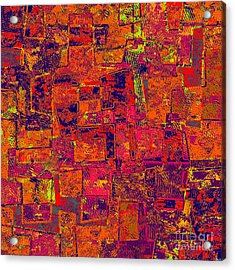 0295 Abstract Thought Acrylic Print by Chowdary V Arikatla