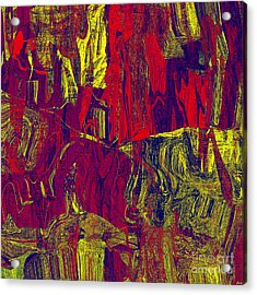 0479 Abstract Thought Acrylic Print by Chowdary V Arikatla