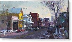 149 Elmwood Ave Savoy Acrylic Print