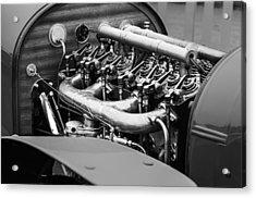 1910 Benz 22-80 Prinz Heinrich Renn Wagen Engine Acrylic Print