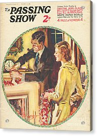 1930s,usa,the Passing Show,magazine Acrylic Print by The Advertising Archives