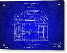 1932 Harleigh Holmes Automobile Patent Acrylic Print by Doc Braham