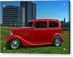 1934 Chevrolet Sedan Hot Rod Acrylic Print