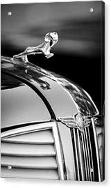 1937 Dodge Hood Ornament - Emblem Acrylic Print by Jill Reger