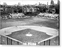 1937 Opening Day At Wrigley Field Acrylic Print by Retro Images Archive