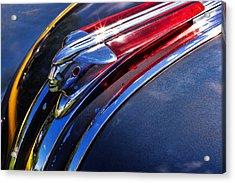 1948 Pontiac Silver Streak Hood Ornament Acrylic Print by Gordon Dean II