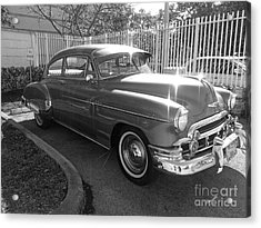 1949 Chevy Acrylic Print by Andres LaBrada