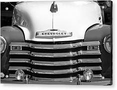 1952 Chevrolet Pickup Truck Grille Emblem Acrylic Print