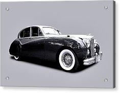 1953 Jaguar Mk Vii  Acrylic Print