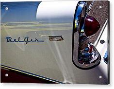 1956 Chevy Bel Air Custom Hot Rod Acrylic Print by David Patterson