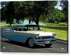 1957 Mercury Monterey Acrylic Print