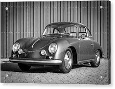 1957 Porsche 1600 Super Acrylic Print by Jill Reger