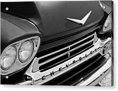 1959 Chevrolet Apache Front End Acrylic Print