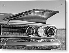1960 Chevrolet Impala Resto Rod Taillight Acrylic Print by Jill Reger