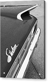 1960 Ford Galaxie Starliner Taillight Emblem Acrylic Print by Jill Reger