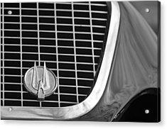 1960 Studebaker Hawk Grille Emblem Acrylic Print by Jill Reger