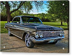 Acrylic Print featuring the photograph 1961 Chevrolet Impala by Tim McCullough