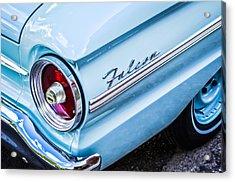 1963 Ford Falcon Futura Convertible Taillight Emblem Acrylic Print