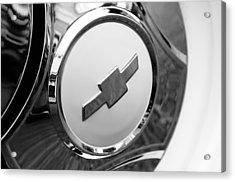 1964 Chevrolet Pickup Truck K 10 Wheel Emblem Acrylic Print by Jill Reger