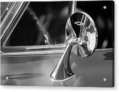 1965 Chevrolet Corvette Rear View Mirror Emblem Acrylic Print
