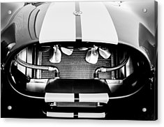 1965 Shelby Cobra Grille Acrylic Print by Jill Reger