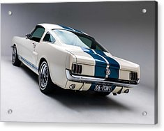Acrylic Print featuring the photograph 1966 Mustang Gt350 by Gianfranco Weiss