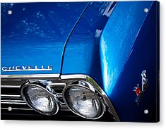1967 Chevy Chevelle Ss Acrylic Print by David Patterson