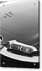 1967 Jaguar E-type 4.2 Liter Series 1 Roadster Taillight Acrylic Print by Jill Reger