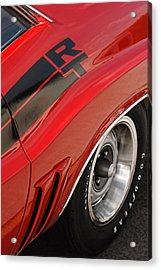Acrylic Print featuring the photograph 1970 Dodge Challenger R/t by Gordon Dean II