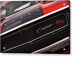 1970 Dodge Challenger Rt Acrylic Print by Gordon Dean II