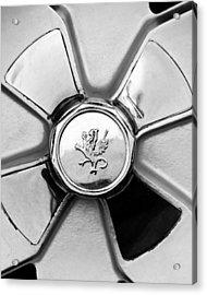 1971 Iso Fidia Wheel Emblem Acrylic Print by Jill Reger